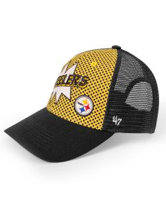 Pittsburgh Steelers '47 Youth MVP Comic Hat