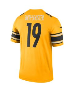 JuJu Smith-Schuster #19 Men's Nike Inverted Color Rush Legend Jersey T-Shirt