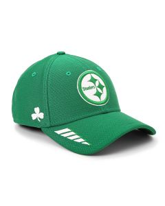 Pittsburgh Steelers New Era 9FORTY Shamrock Stretch Snap Hat