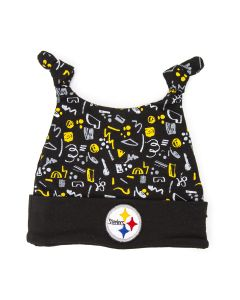 Pittsburgh Steelers Boy's Pattern Newborn Hat