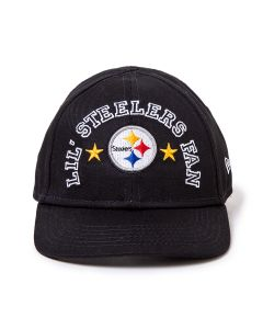 Pittsburgh Steelers New Era 9TWENTY Infant Lil Fan Hat