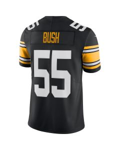 Devin Bush #55 Men's Nike Limited Throwback Jersey