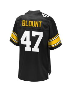 Mel Blount #47 Men's Pro Line Replica Home Jersey
