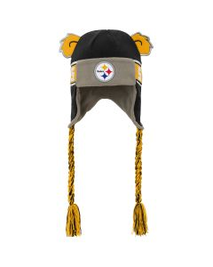 Pittsburgh Steelers Toddler Wordmark Trooper Knit Hat