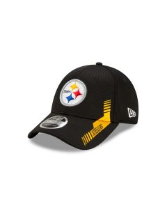 Pittsburgh Steelers YOUTH New Era 9FORTY 2021 Sideline Home Hat
