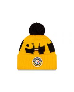 Pittsburgh Steelers New Era 2020 Sideline Sport Knit Hat