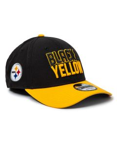Pittsburgh Steelers New Era 9FORTY Black & Yellow Hat