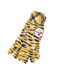 Pittsburgh Steelers Women's Touch Space Dye Knit Gloves