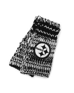 Pittsburgh Steelers Women's Touch Moto Wrist Warmers