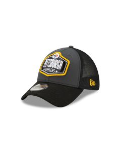 Pittsburgh Steelers Men's New Era 39THIRTY 2021 Draft Hat