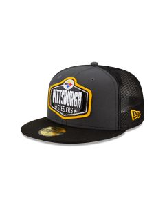 Pittsburgh Steelers Men's New Era 59FIFTY 2021 Draft Hat