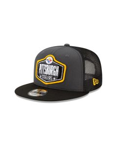 Pittsburgh Steelers Men's New Era 9FIFTY 2021 Draft Hat