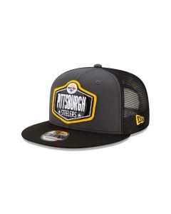 Pittsburgh Steelers Men's New Era 9FIFTY 2021 Draft Hat