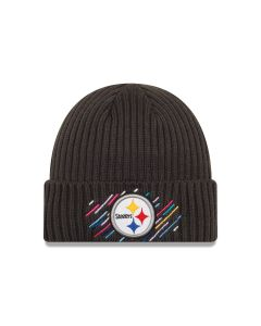 Pittsburgh Steelers New Era Crucial Catch Sideline Knit Hat
