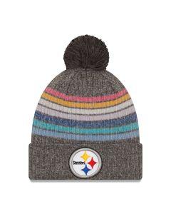 Pittsburgh Steelers Women's New Era Crucial Catch Sideline Knit Hat