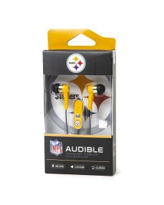 Pittsburgh Steelers Black & Gold Earbuds
