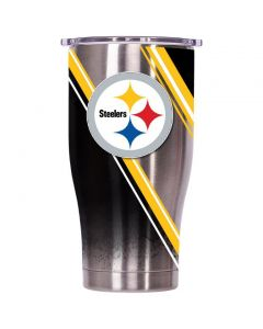 Pittsburgh Steelers 27 oz. ORCA Chaser Double Stripe Wrap Tumbler