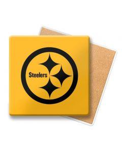 Pittsburgh Steelers Reverse Color Rush Ceramic Coaster