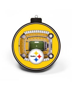 Pittsburgh Steelers Stadium View Ornament