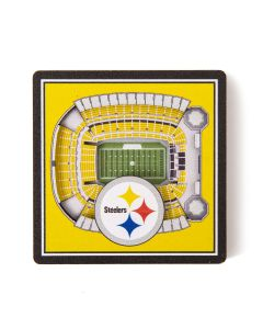 Pittsburgh Steelers Stadium View Magnet