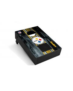 Pittsburgh Steelers Desk Mini Cornhole with Bluetooth Speaker