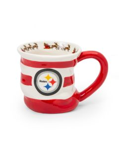 Pittsburgh Steelers 18 oz. Holiday Stocking Mug