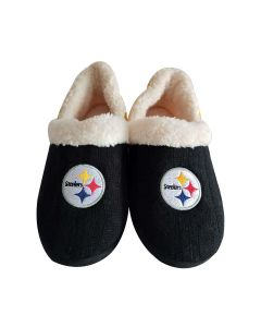 Pittsburgh Steelers Women's Colorblock Slippers