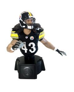 Pittsburgh Steelers #43 Troy Polamalu Home Bust Figurine