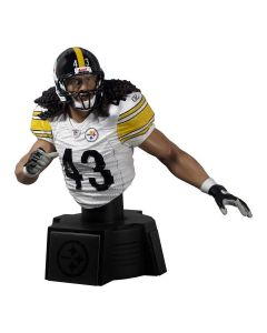 Pittsburgh Steelers #43 Troy Polamalu Away Bust Figurine