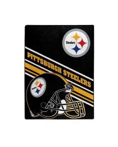 Pittsburgh Steelers 60x80 in. Raschel Slant Blanket