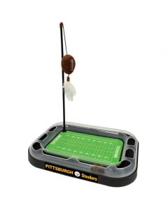 Pittsburgh Steelers Football Field Cat Scratcher Toy
