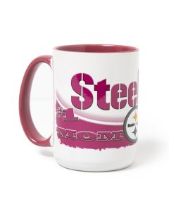 Pittsburgh Steelers #1 Mom 15oz. Mug