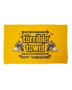 Pittsburgh Steelers Happy Thanksgiving Terrible Towel