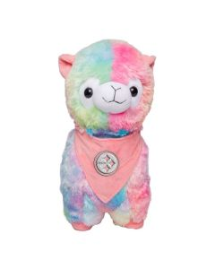 Pittsburgh Steelers Rainbow Llama Plush