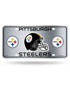Pittsburgh Steelers Logo & Helmet License Plate