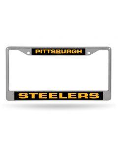 Pittsburgh Steelers Metal License Plate Frame