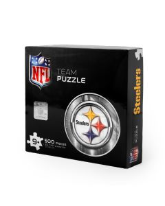Pittsburgh Steelers Logo 500 Piece Puzzle