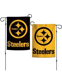 Pittsburgh Steelers Color Rush 2-Sided Garden Flag