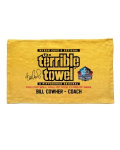 Pittsburgh Steelers Coach Bill Cowher Hall of Fame Terrible Towel