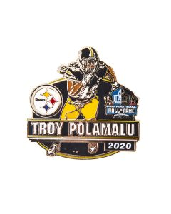 Pittsburgh Steelers #43 Troy Polamalu Hall of Fame Lapel Pin