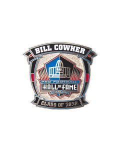 Pittsburgh Steelers Coach Bill Cowher Hall of Fame Lapel Pin