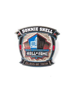 Pittsburgh Steelers #31 Donnie Shell Hall of Fame Lapel Pin