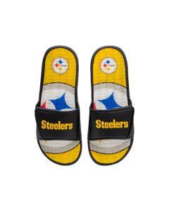 Pittsburgh Steelers Men's Wordmark Gel Slides