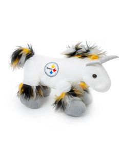 Pittsburgh Steelers Black and Gold Unicorn Plush