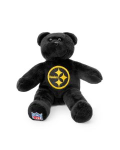 Pittsburgh Steelers Black Color Rush Plush Bear