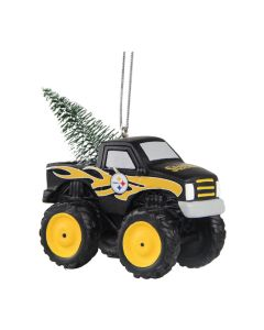Pittsburgh Steelers Monster Truck Ornament