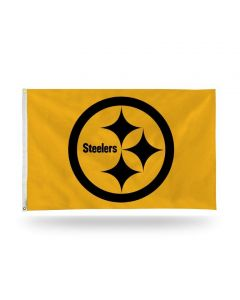 Pittsburgh Steelers 3' x 5' Gold Color Rush Flag