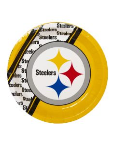 Pittsburgh Steelers Disposable Paper Plates - 8 pack