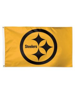 Pittsburgh Steelers Gold Color Rush 3' x 5' Flag