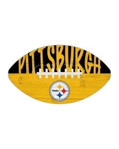 Pittsburgh Steelers Football Wood Sign